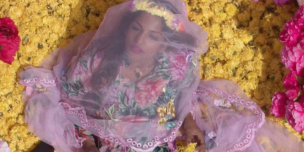 """Watch M.I.A.'s Striking, Border-Free Video For """"P.O.W.A."""""""