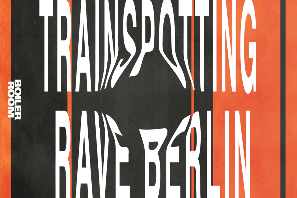 "Boiler Room and ""Trainspotting 2"" are Throwing a Proper 90s Rave This Weekend"