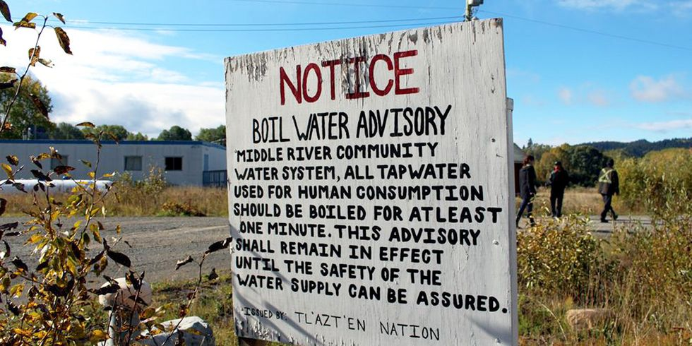 This First Nation Is Still Under Boil-Water Advisory After 21 Years