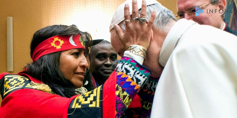 Pope Francis: Indigenous People Should Have Final Say About Their Land