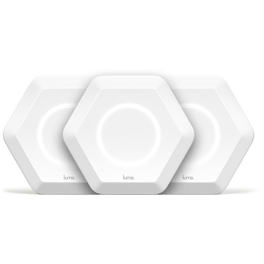 Free Parental Controls Luma Home WiFi WiFi Extenders/&Routers White 3 Pack
