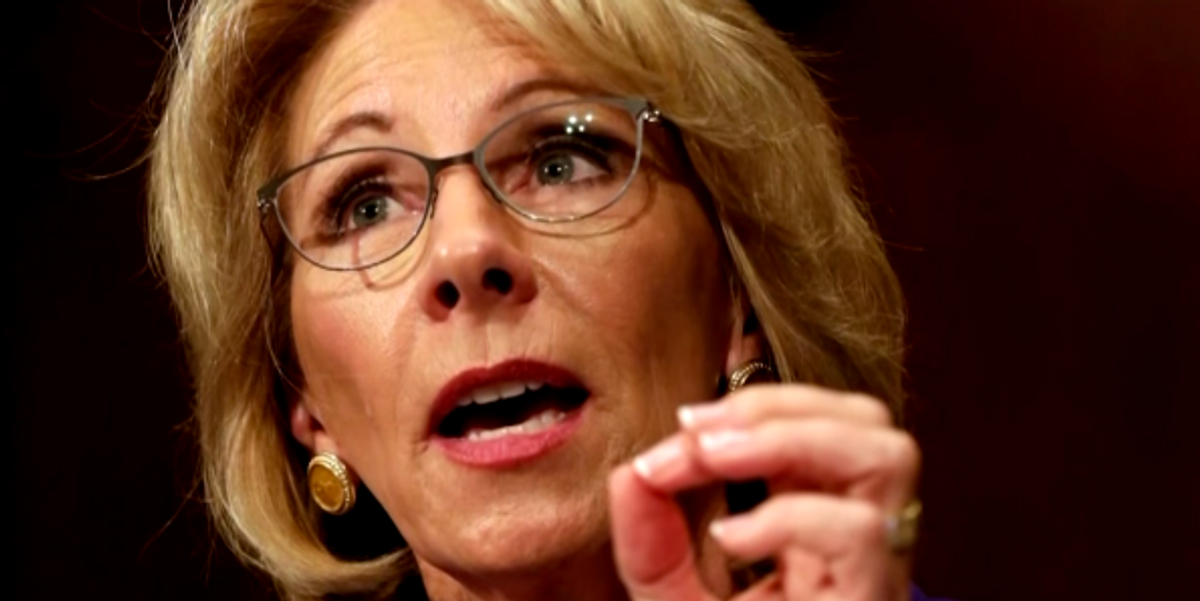 """Betsy DeVos's Department of Education Discovers it's Too Late For """"Apologizes"""" After Misspelling Name of W.E.B Du Bois"""