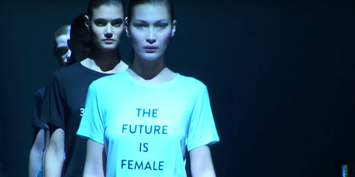 """Prabal Gurung's """"The Future Is Female"""" T-Shirt Looks Awfully Familiar"""