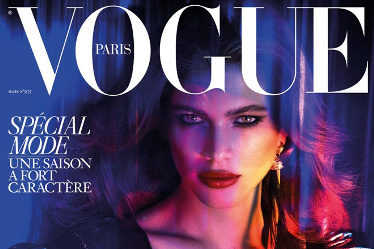 French Vogue Announced Its First Transgender Cover Model