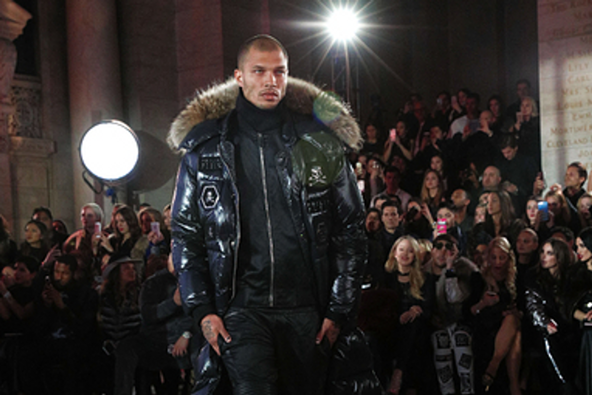 'Prison Bae' Jeremy Meeks Just Made His NYFW Debut and No One Can Breathe