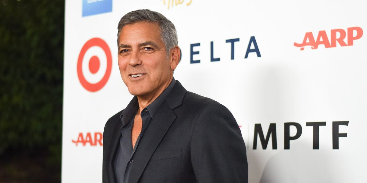 "George Clooney Accuses Donald Trump of Being a ""Hollywood Elitist"""