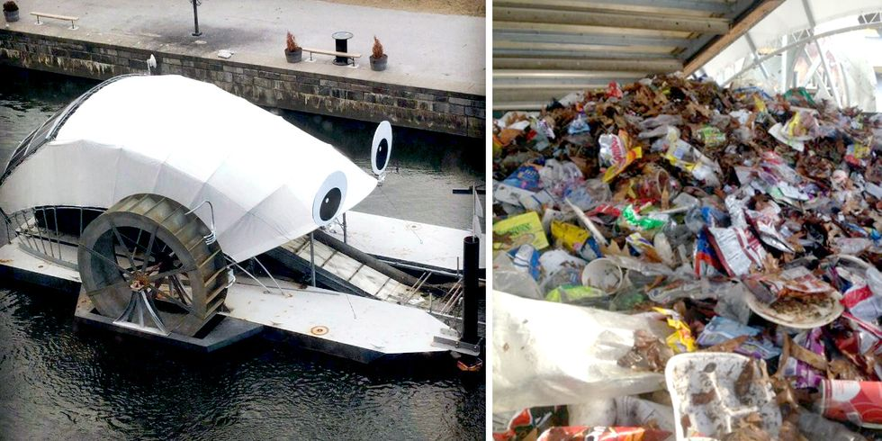 Solar-Powered Water Wheels Prevented 1 Million Pounds of Trash From Entering Baltimore Harbor
