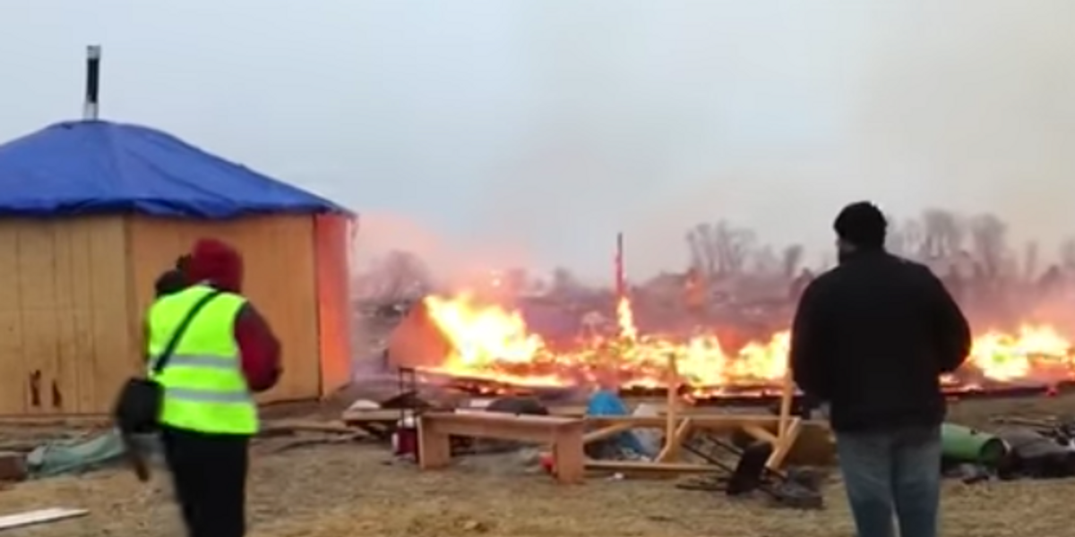 Police Followed Through on Threats and Arrested 10 People At Standing Rock Yesterday
