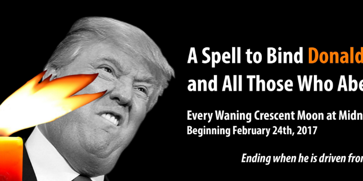 Witches Everywhere Will Cast A Spell on Trump Tomorrow to Drive Him From Office