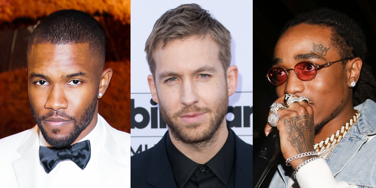 """Listen to Calvin Harris, Frank Ocean, and Migos' Chill New Track, """"Slide"""""""