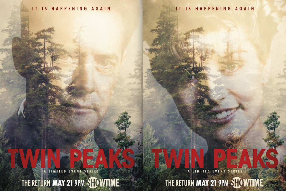 Peep the New Official Posters for 'Twin Peaks' Revival