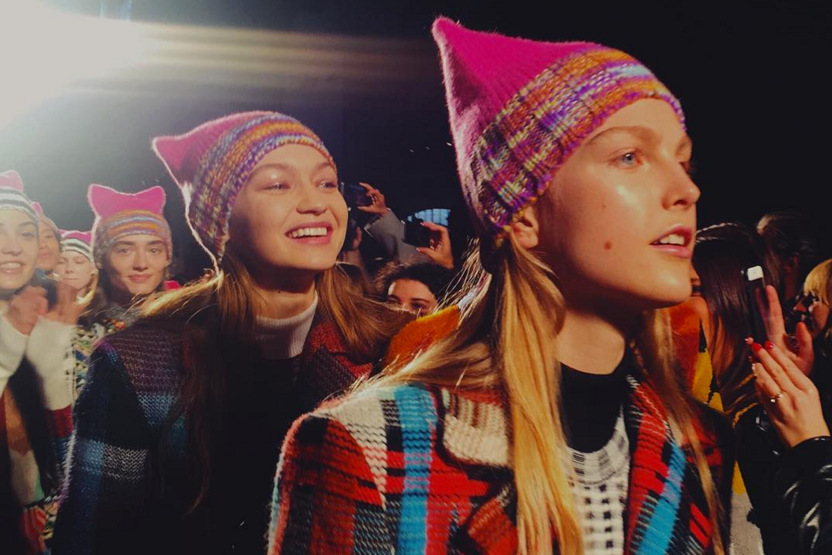 Missoni Turned Their Fall 2017 Show Into a Chic Mini Women's March