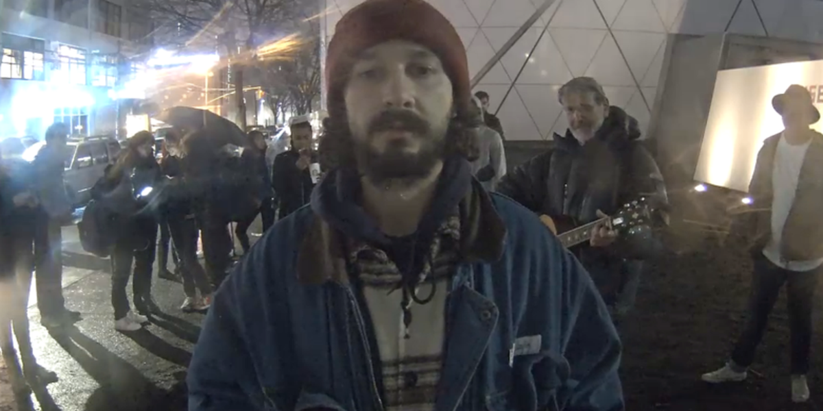 Shia LaBeouf's Anti-Trump Art Project Is Moving to New Mexico