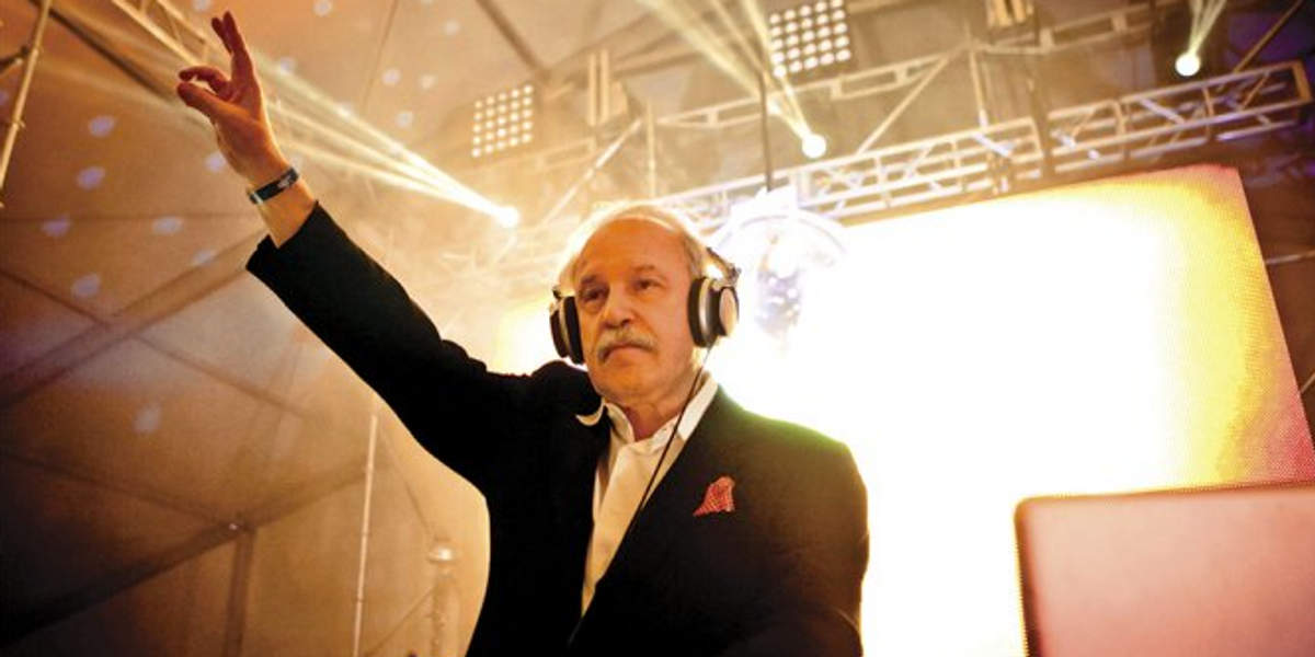 DJ Giorgio Moroder Talks Founding EDM, Loving The Chainsmokers and Why Disco is Back