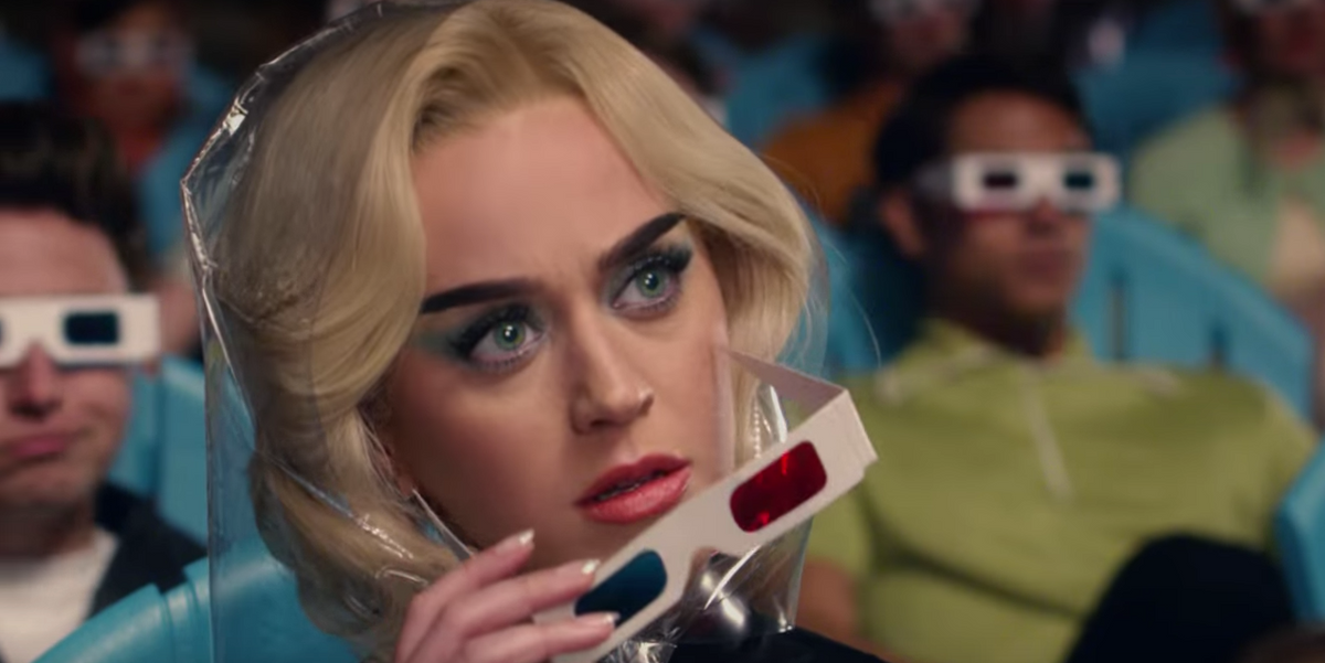 """Katy Perry's Music Video For """"Chained To The Rhythm"""" Is A '50s Dystopia"""