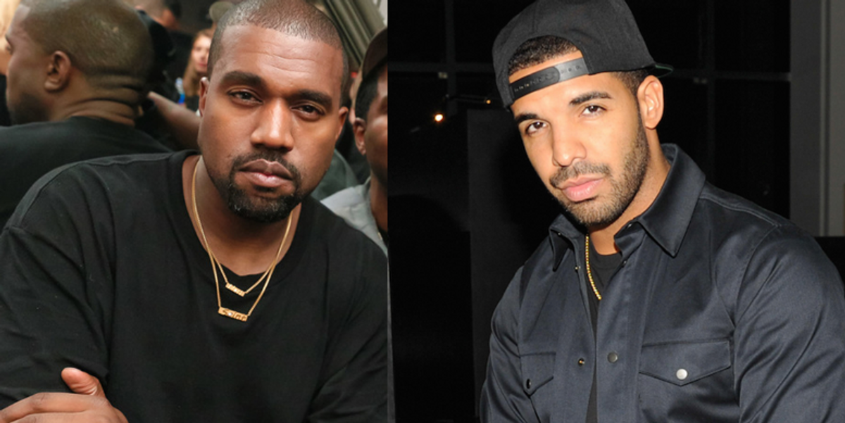 Drake and Kanye's Relationship is on the Rocks So You Can Wave Goodbye to That Album