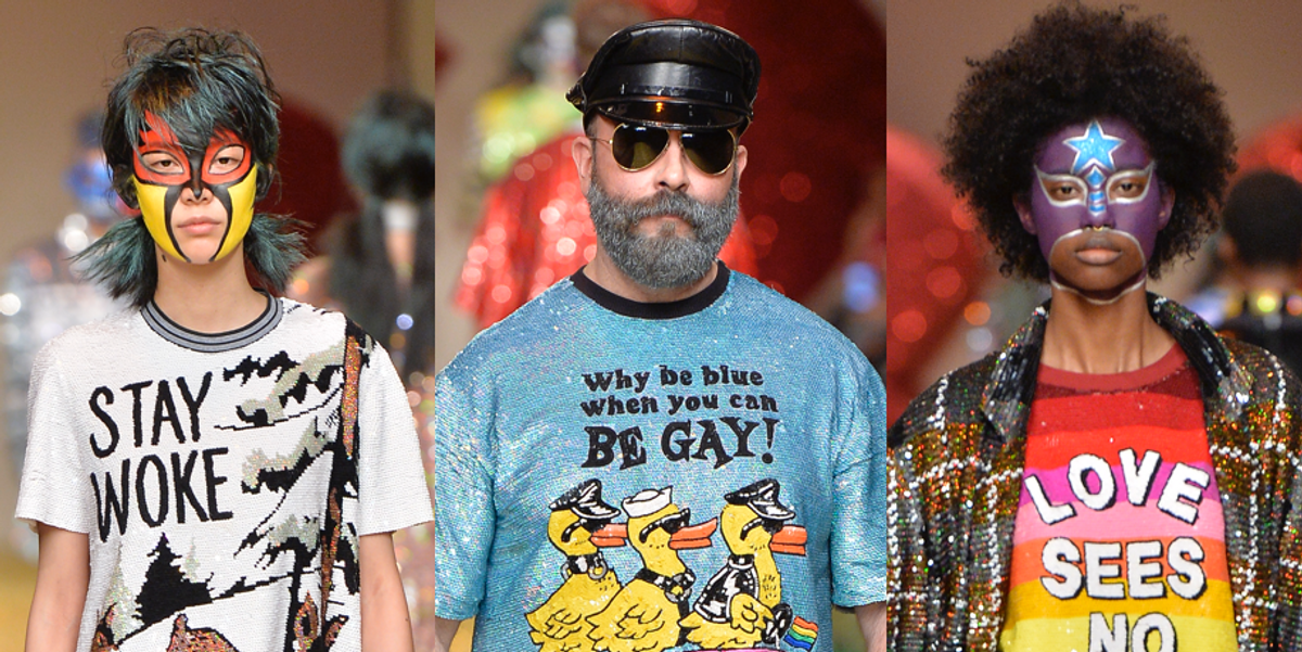 Trips to Oz, Dark Visions, and Sparkly Jumpsuits: The Best of London Fashion Week