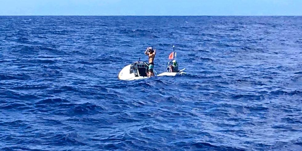 Stand-Up Paddler Breaks 3 World Records, Completes Solo Atlantic Crossing