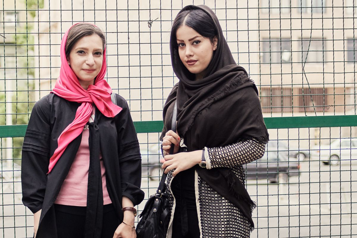 Peep These Shots of Tehrani Youth Street Style