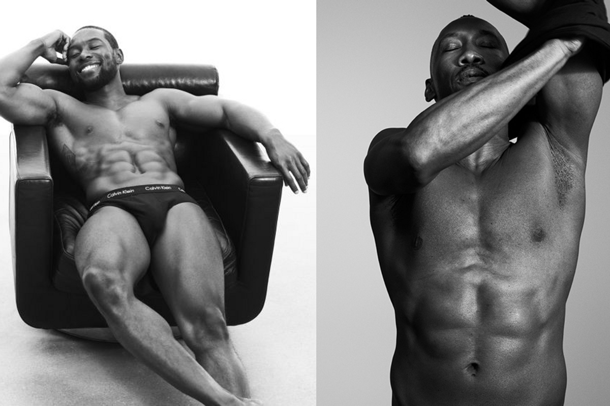 """Peep the Stars of """"Moonlight"""" in This Incredible New Calvin Klein Underwear Campaign"""