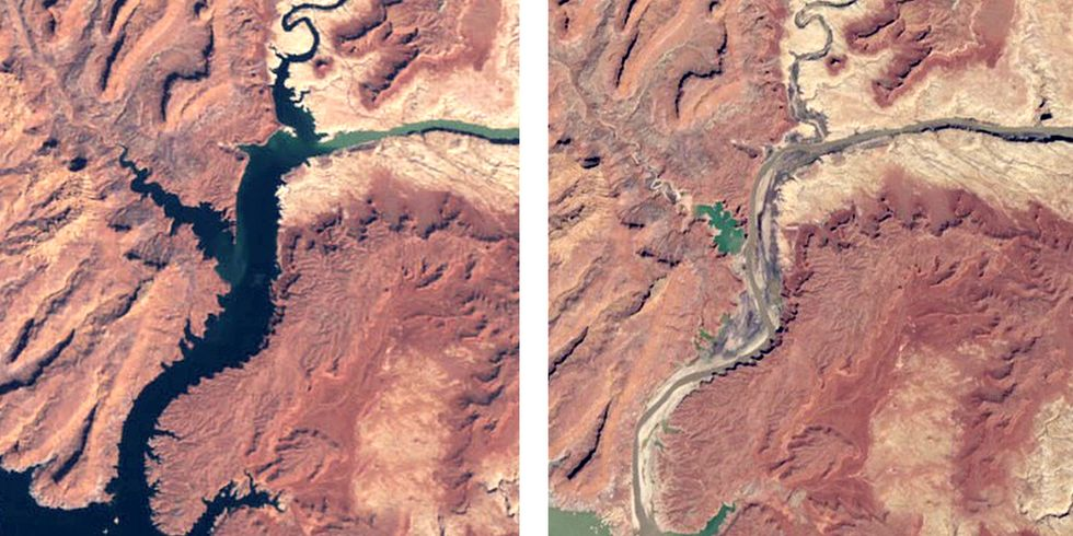 Rising Temperatures to Blame for Water Loss in Colorado River