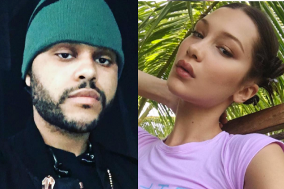 Watch Bella Hadid Awkwardly Dance As Ex The Weeknd Performs Live