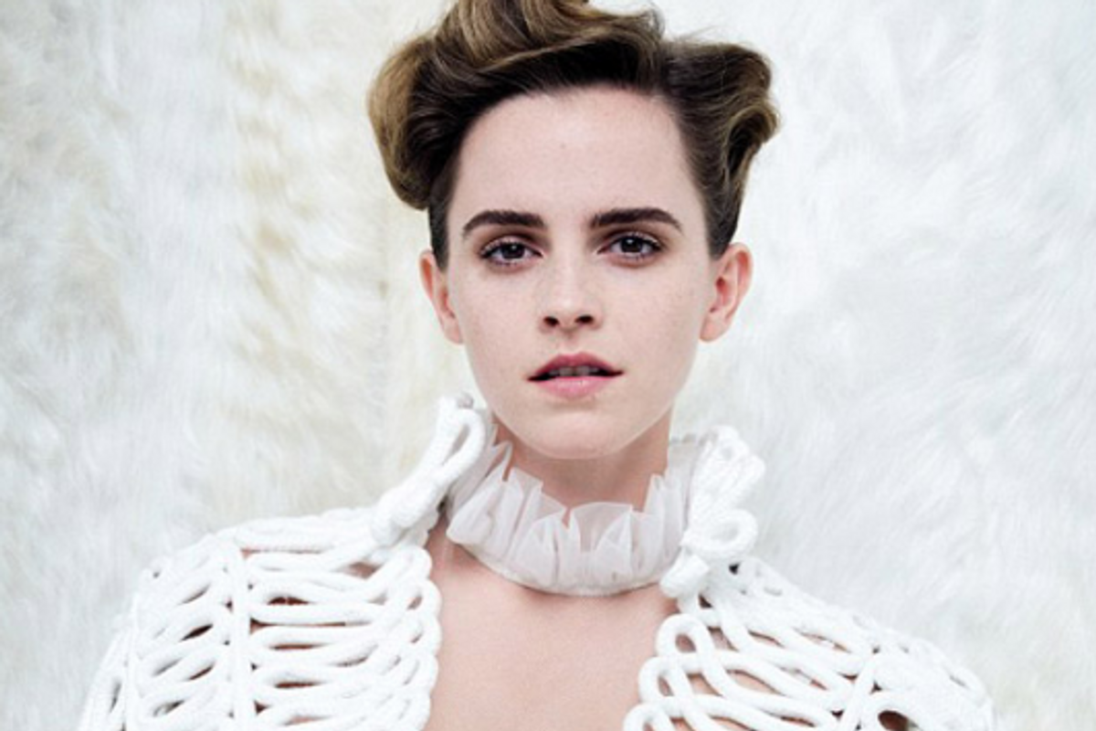 """Emma Watson Responds to Critics Who Labelled Her a """"Hypocrite"""" for Posing Topless"""
