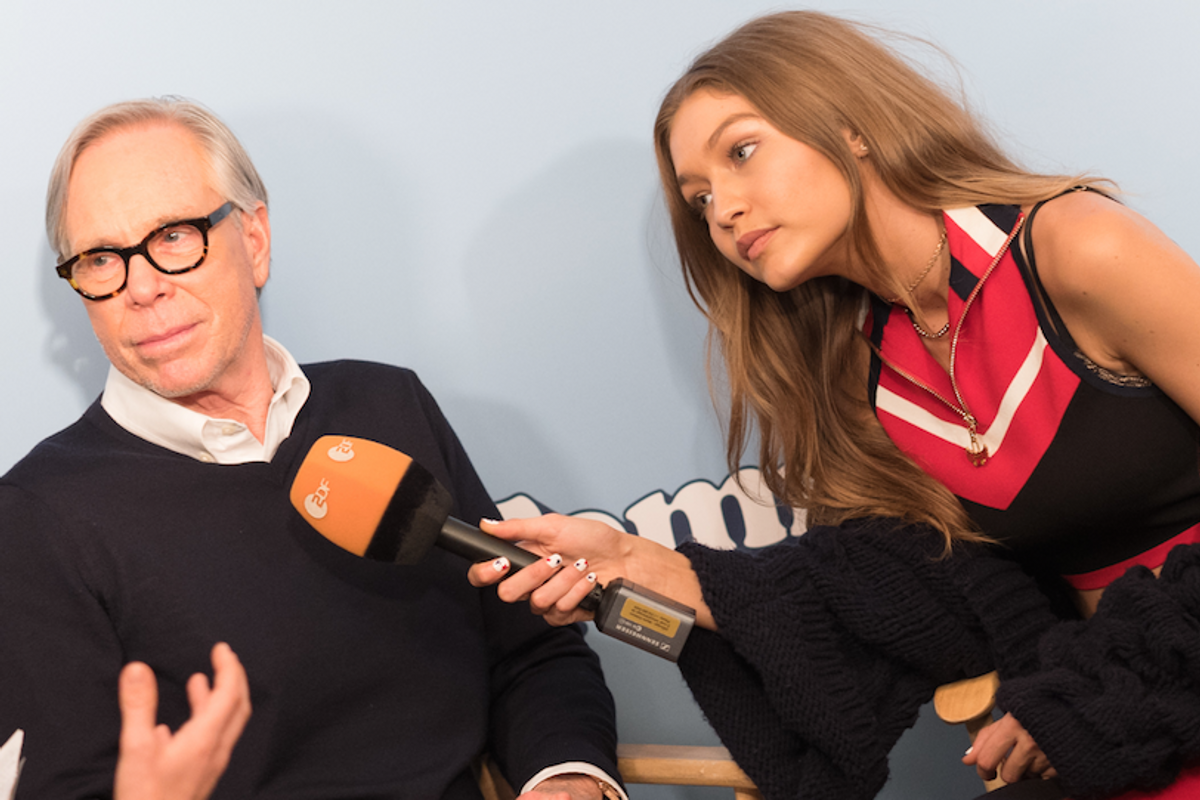 Tommy Hilfiger Thinks Gigi Hadid Will Heal America's Relationship with the Middle East