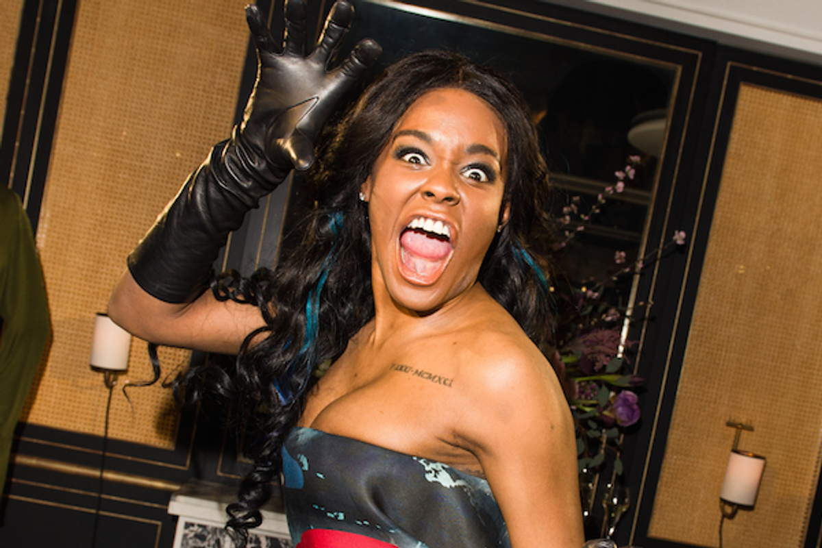 A Warrant is Out for Azealia Banks' Arrest For Boob-Biting Case