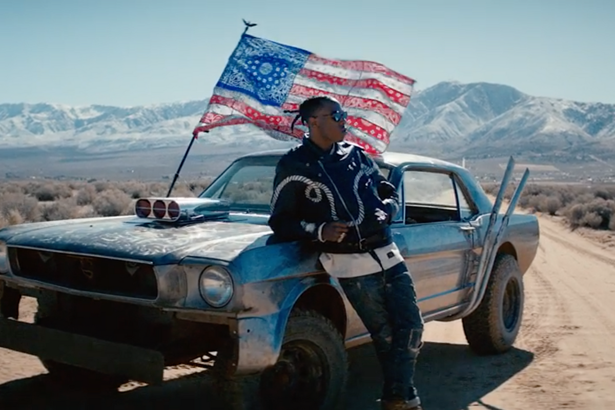 "Joey Bada$$ Gets Political In Powerful ""Land Of The Free"" Video"