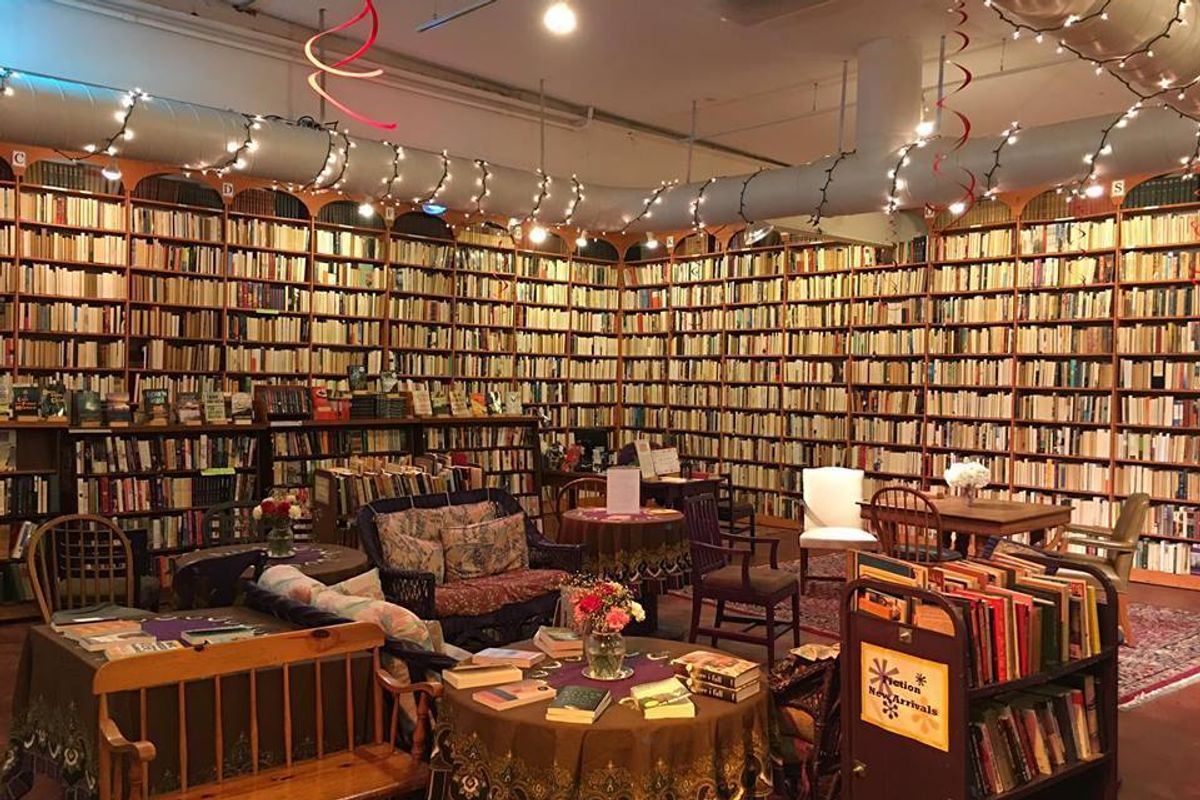 This Bookstore Flipped Male-Authored Books Backwards to Showcase Female Authorship