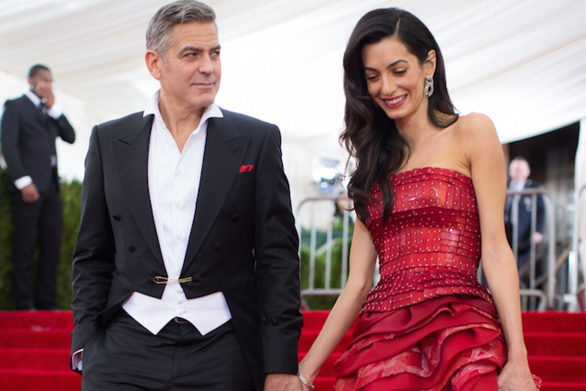 Human Rights Lawyer Amal Clooney Perfectly Happy with Publicity Actor Husband Brings to Her Cases