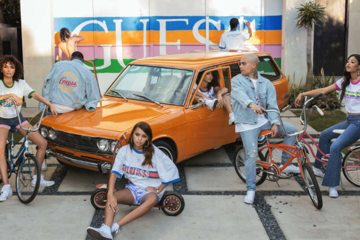 Fall Head Over Heels With A$AP Rocky's Latest Guess Collaboration