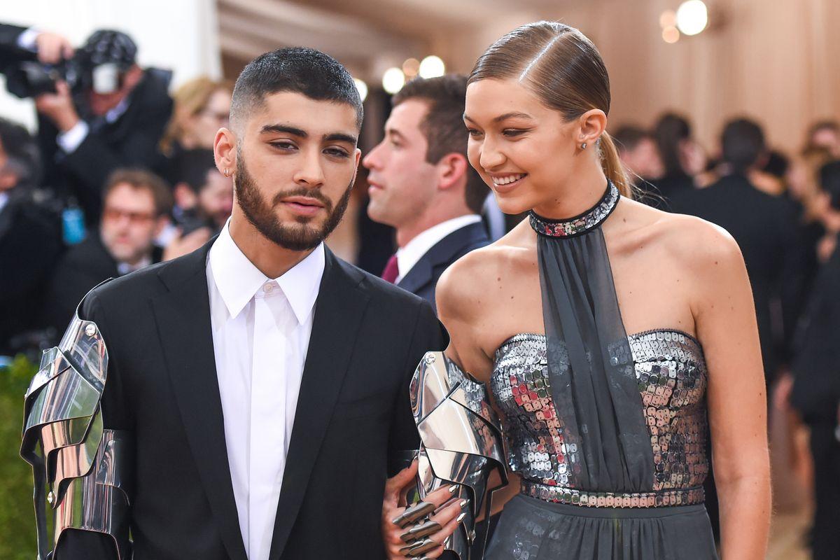 Gigi Hadid Shoots Zayn for a New Versace Campaign