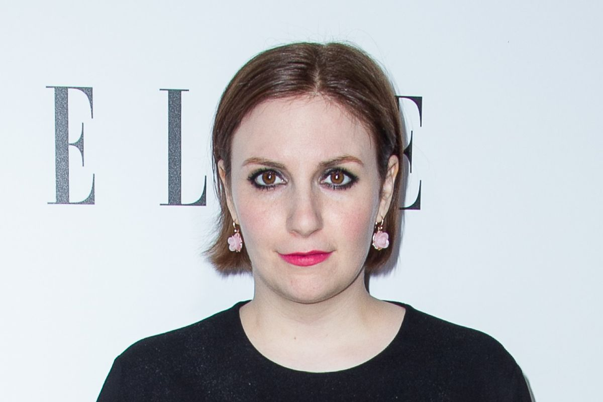 Lena Dunham's New Tattoo Was Inspired By Rihanna
