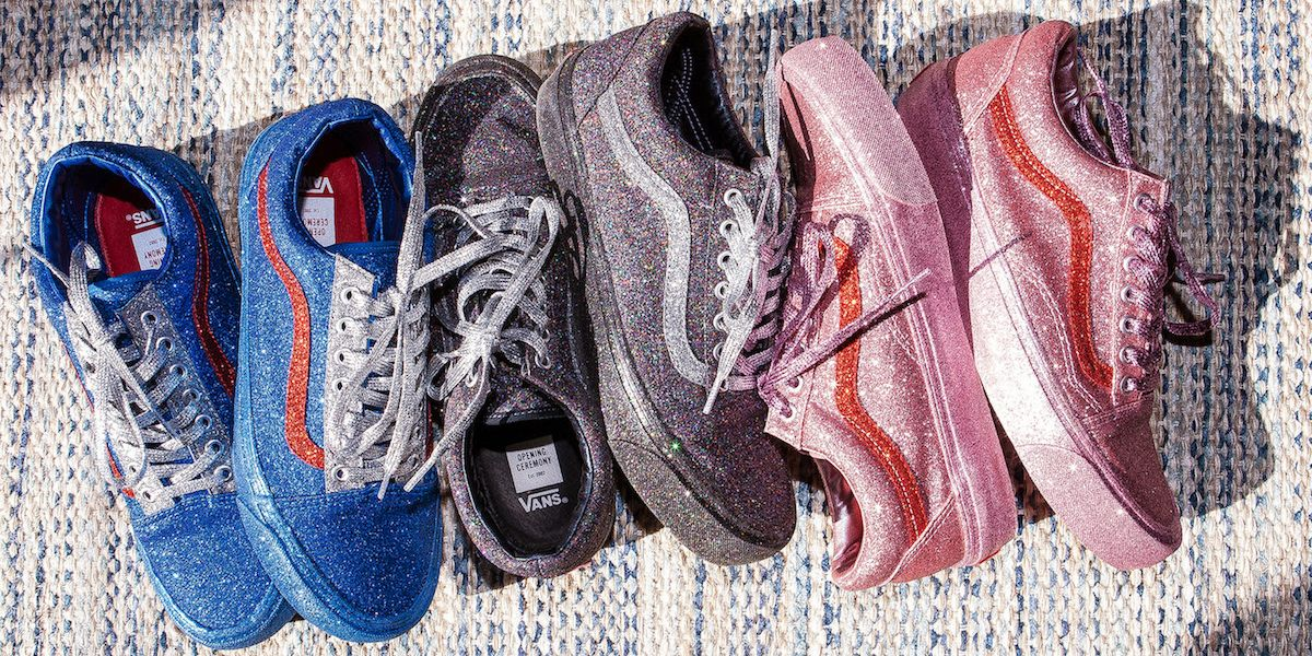 Peep Vans and Opening Ceremony's Glittery New Collab