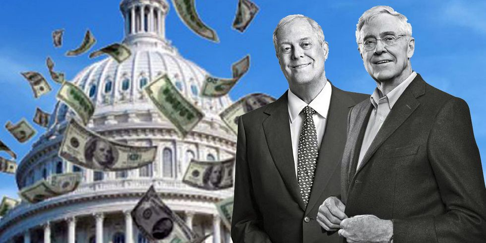 Koch-Connected Dark Money Funds Much More Than Climate Denial