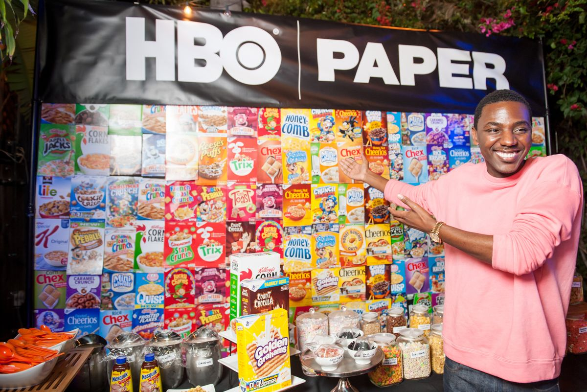 Stars and Cereal Bars: Highlights From HBO's Rager For Jerrod Carmichael's New Comedy Special