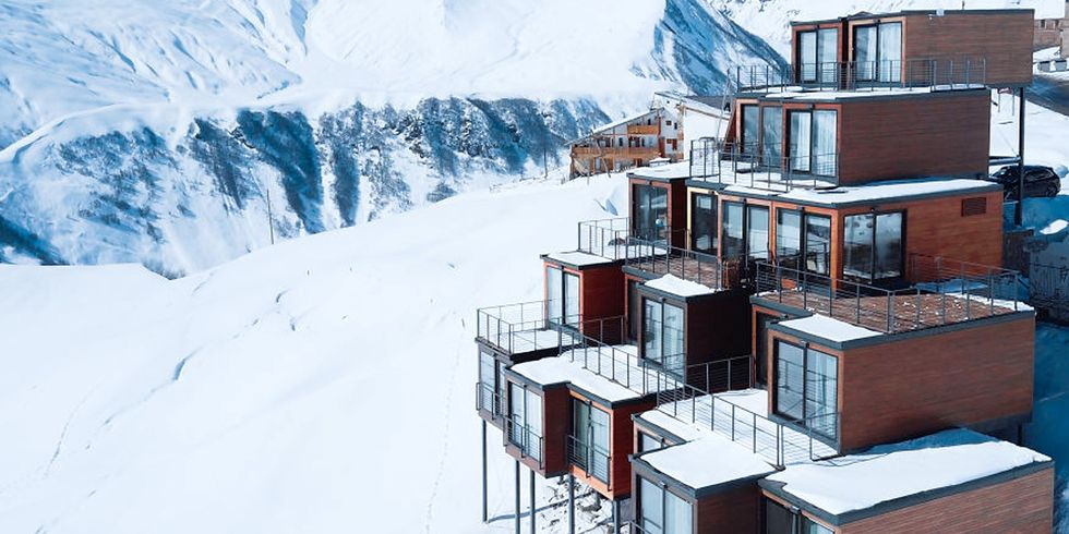 Gorgeous Hotel Constructed From Shipping Containers Leaves Landscape Untouched