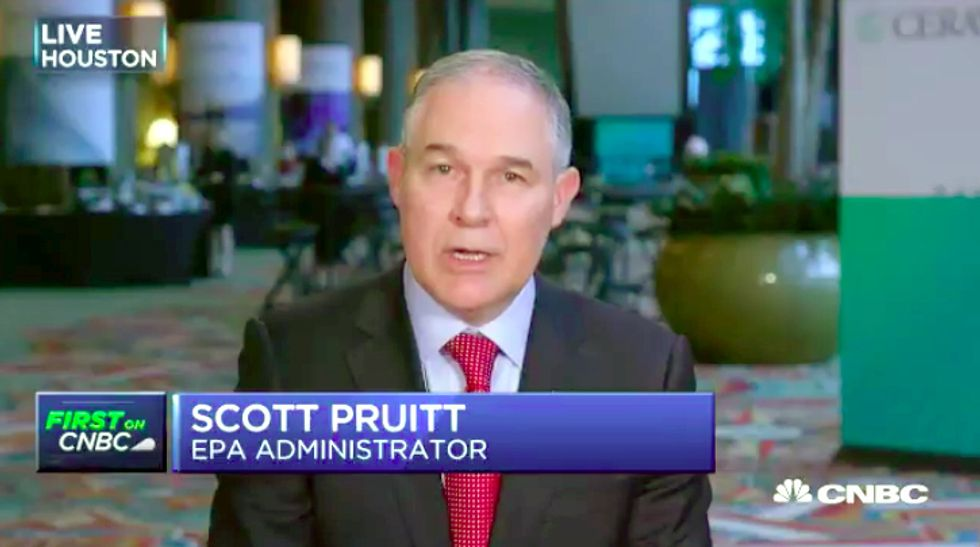 EPA Chief Denies CO2 as Primary Driver of Climate Change