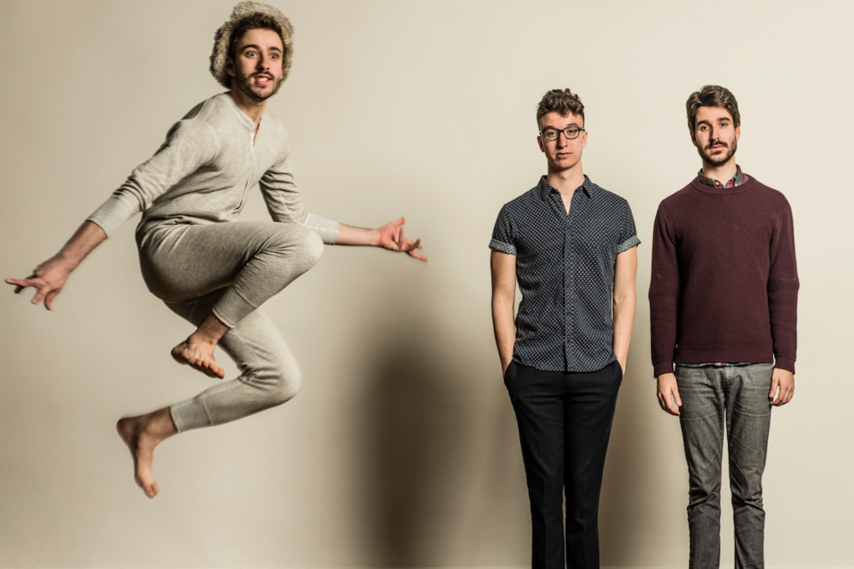 PREMIERE: Give in to Temptation and Watch AJR's New Video for 'Weak'