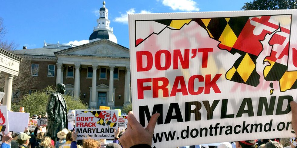 House Passes Bill to Ban Fracking in Maryland