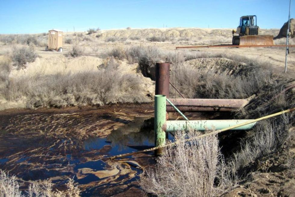 Chevron Pipeline Spills 4,800 Gallons of Oil on Public Land, Kills Wildlife