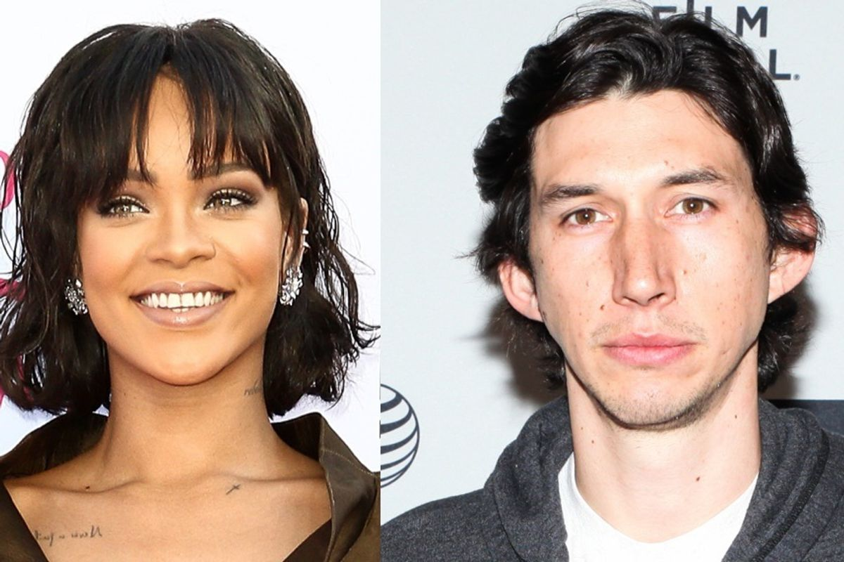 UPDATED: Rihanna and Adam Driver Will Co-Star in an Art House Musical
