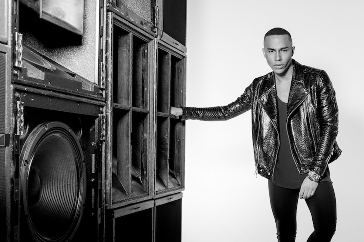 Olivier Rousteing Wants To Continue Making Balmain More Accessible