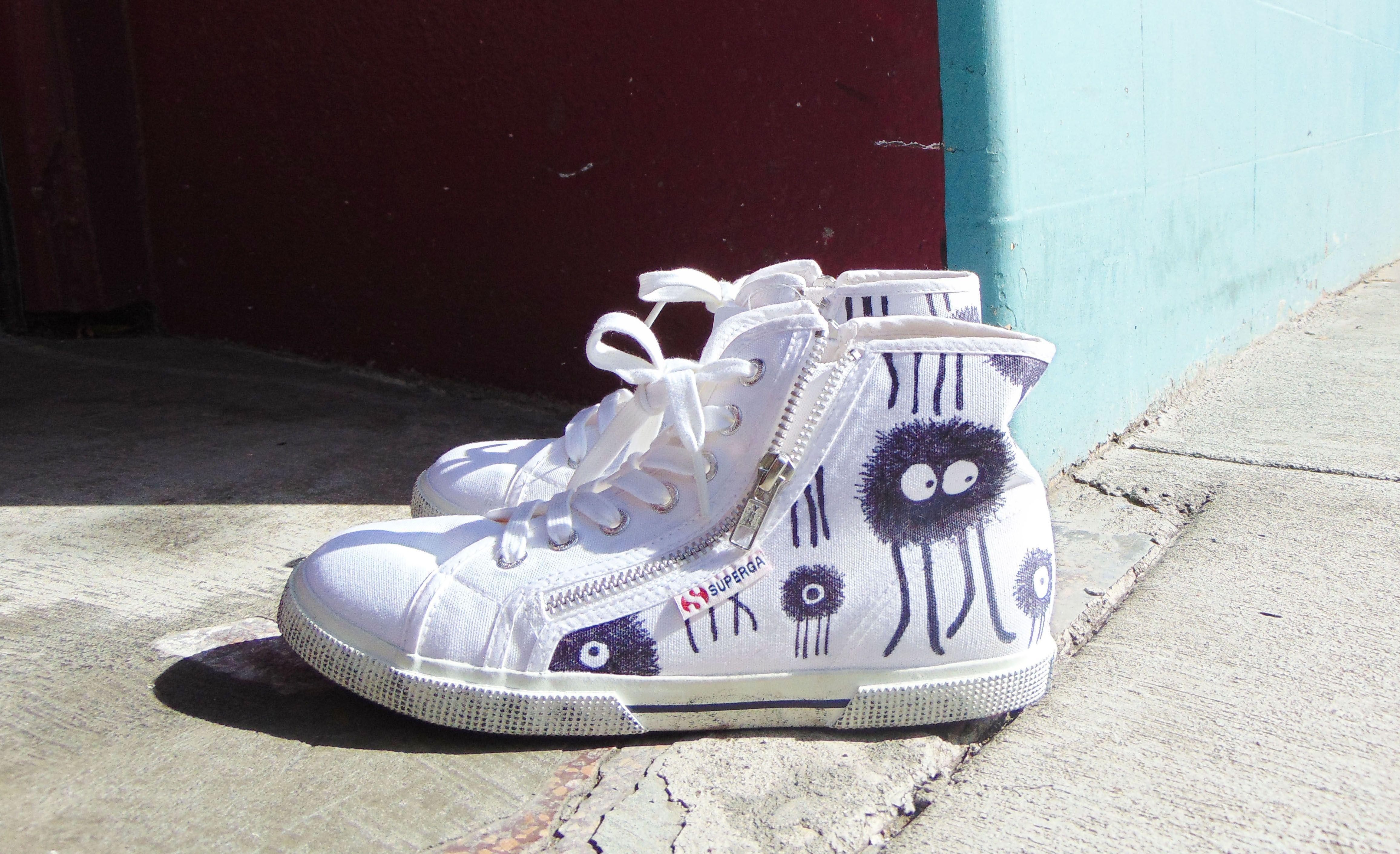 Femme Fair, Custom Superga Sneakers