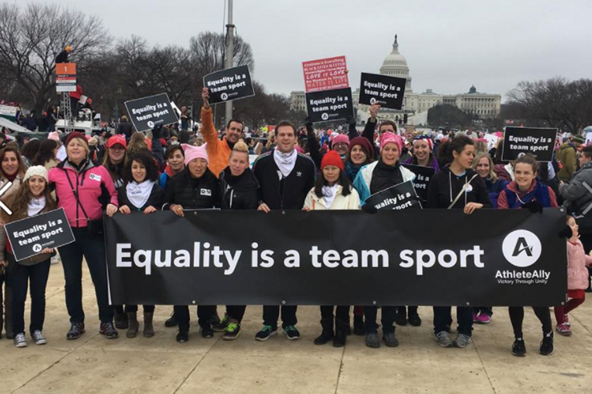 Over 50 Top Athletes and Coaches Sign Open Letter in Support of Trans Rights