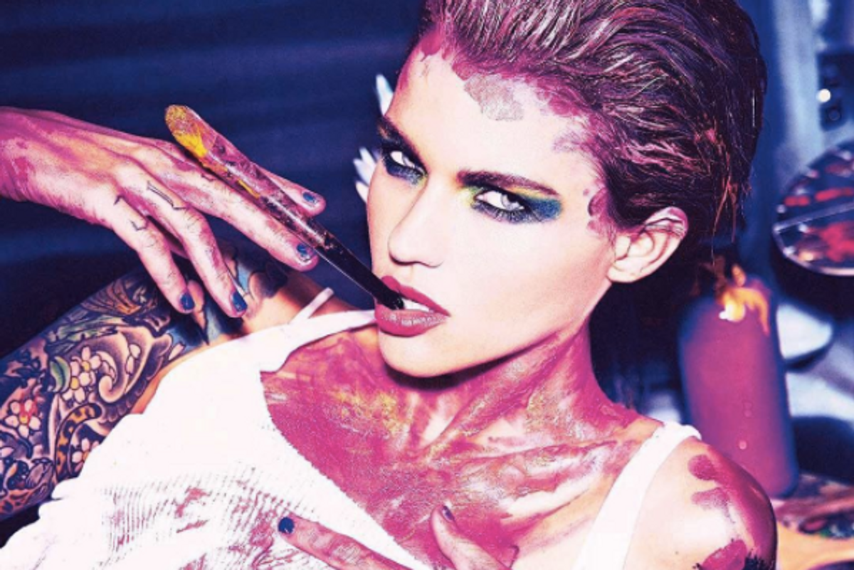 People Are Not Happy That Ruby Rose Is the Face of the Basquiat-Urban Decay Collaboration