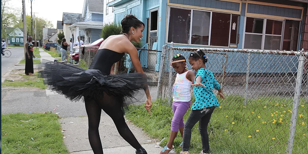 Why Aesha Ash is Wandering Around Inner City Rochester in a Tutu