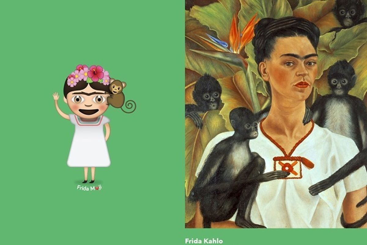 These Frida Kahlo Emojis Are Exactly What You Need to Spice Up Your Texting